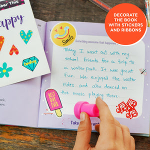 Toiing Everyday Gratitude Journal - Smalljoys Journal, to Develop Positivity in Kids