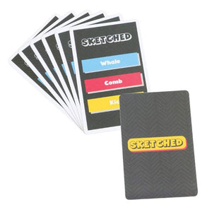 Toiing Fast Paced Card Game - Sketched, Based On Creativity