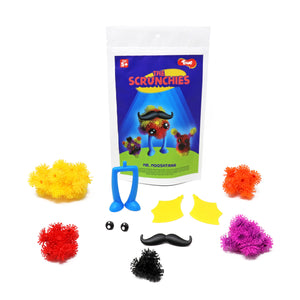 Toiing Innovative Construction & Building Set - Scrunchies Mr Mooshtang