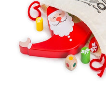 Load image into Gallery viewer, Buy Toyroom Wobbly Wooden Balancing Santa Game - content - GiftWaley.com