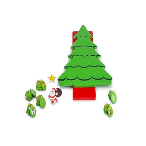 Buy Toyroom Wooden Christmas Tree with Magnetic Ornaments - GiftWaley.com
