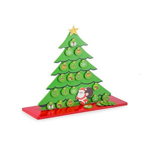 Buy Toyroom Wooden Christmas Tree with Magnetic Ornaments - play - GiftWaley.com