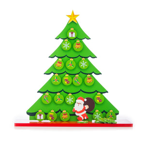 Buy Toyroom Wooden Christmas Tree with Magnetic Ornaments - tree- GiftWaley.com
