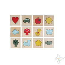 Load image into Gallery viewer, Buy Toyroom Wooden Feel and Match Sensory Memory Game - GiftWaley.com