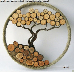 Buy Toyroom Wooden Tree slices (50 pieces) - GiftWaley.com