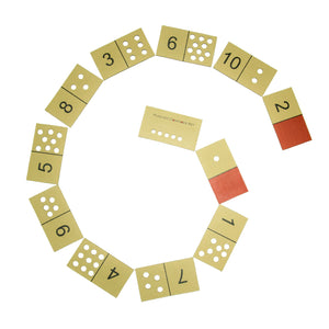 Buy Vikalp Elementry Dominoes Number Learning Kit - GiftWaley.com