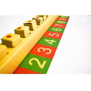 Buy Vikalp Number Cubes Counting Learning Kit - Stage 3 - GiftWaley.com