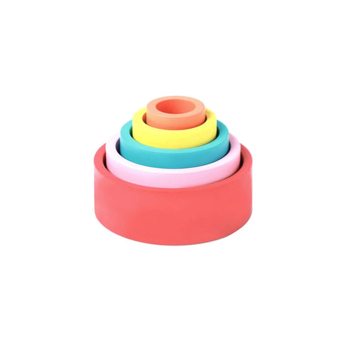 Buy Ariro Colored Wooden Nesting Bowls Toy - GiftWaley.com