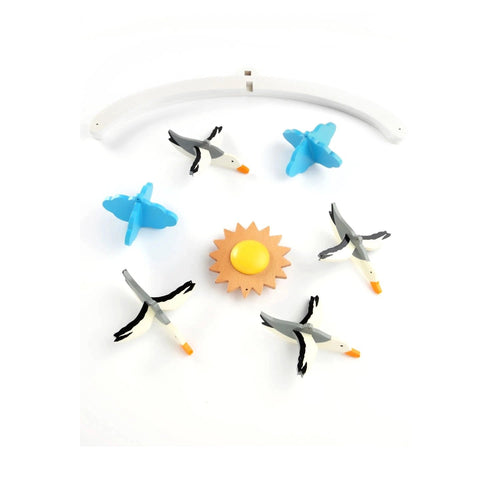 Buy Ariro Seagulls Wooden Mobile Toy - GiftWaley.com