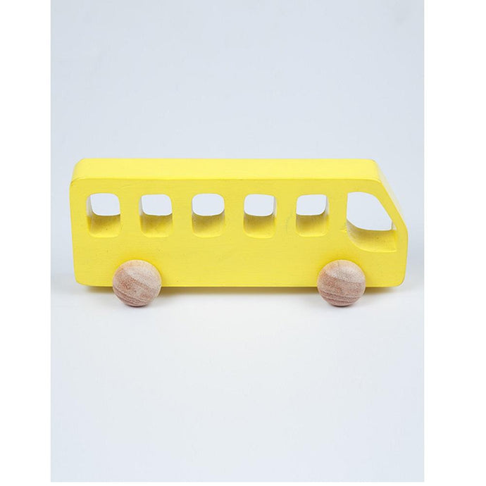 Buy Ariro Wooden Bus Push Toy - GiftWaley.com