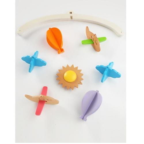 Buy Ariro Wooden Mobile Planes And Hot Air Balloon - GiftWaley.com