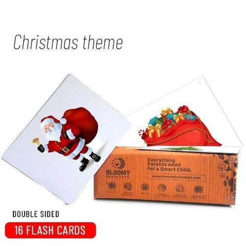 Buy Bloomy Brain Christmas Flash Cards - GiftWaley.com