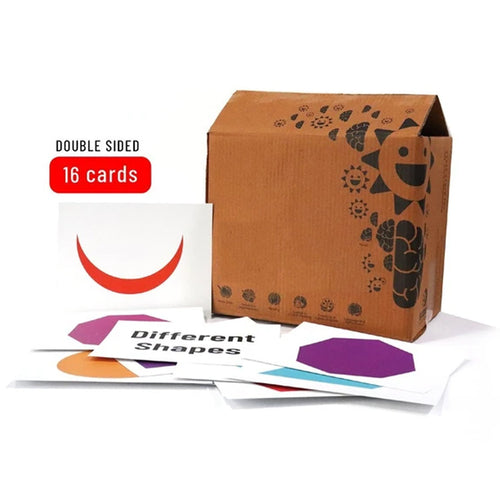Buy Bloomy Brain Different Shapes Flash Cards - GiftWaley.com