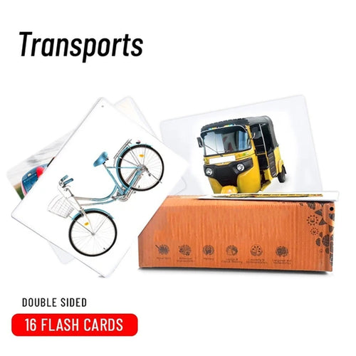 Buy Bloomy Brain Transport Flash Cards - GiftWaley.com