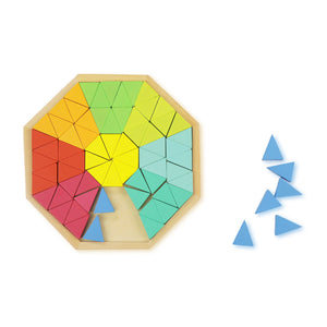 Buy Bloomy Brain Wooden Mandala Puzzle Game - GiftWaley.com