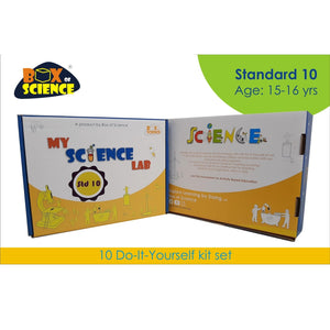 Buy Box of Science My Science Lab - Std 10 Kit - GiftWaley.com