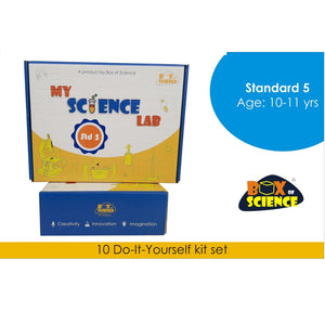 Buy Box of Science My Science Lab - Std 5 Kit - GiftWaley.com