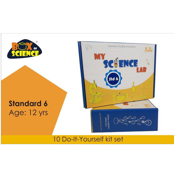 Buy Box of Science My Science Lab - Std 6 Kit - GiftWaley.com