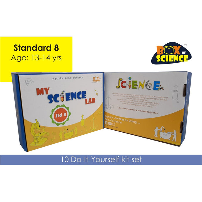 Buy Box of Science My Science Lab - Std 8 Kit - GiftWaley.com