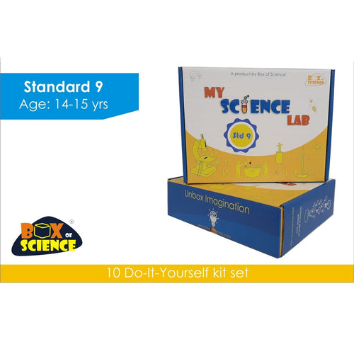 Buy Box of Science My Science Lab - Std 9 Kit - GiftWaley.com