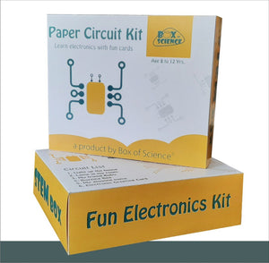 Buy Box of Science Paper Circuit Kit - GiftWaley.com