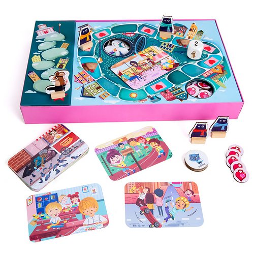 Buy Chalk & Chuckles Caring Cats Relationship Board Game - GiftWaley.com
