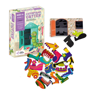 Buy Chalk & Chuckles Caterpillar Clutter Memory Card Game - GiftWaley.com