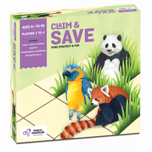 Load image into Gallery viewer, Buy Chalk & Chuckles Claim and Save Strategy Board Game - GiftWaley.com