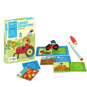 Buy Chalk & Chuckles Clever Counting Puzzle Game - GiftWaley.com