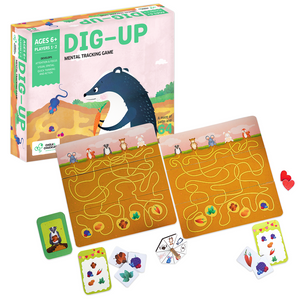 Buy Chalk & Chuckles Dig Up Mental Tracking Board Game - GiftWaley.com