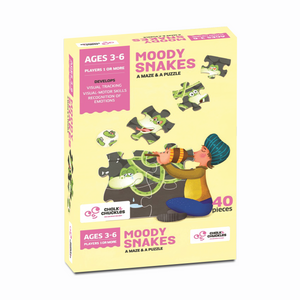 Buy Chalk & Chuckles Moody Snakes Maze and Puzzle Game - GiftWaley.com