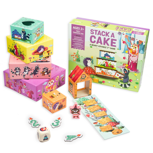 Buy Chalk & Chuckles Stack A Cake Activity Game - GiftWaley.com