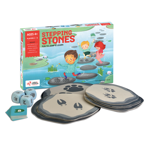 Buy Chalk & Chuckles Stepping Stones Jumping Activity Game - GiftWaley.com