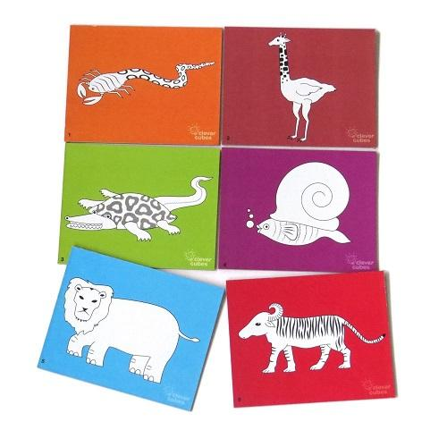 Buy Clever Cubes Animal Goof Up Card Game - GiftWaley.com