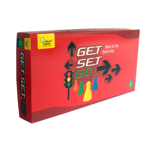 Buy Clever Cubes Get Set Go Board Game - GiftWaley.com