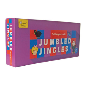Buy Clever Cubes Jumbled Jingles Card Game - GiftWaley.com