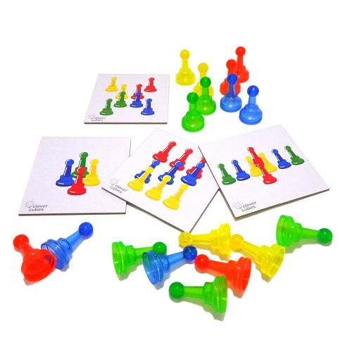 Buy Clever Cubes Playful Skittles Board Game - GiftWaley.com