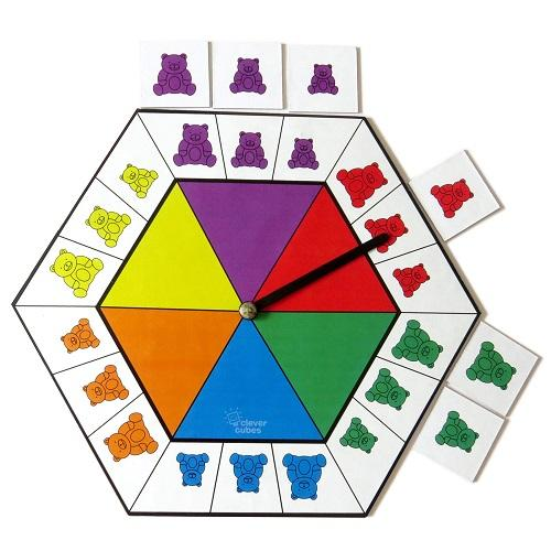 Buy Clever Cubes Spin A Teddy Board Game - GiftWaley.com