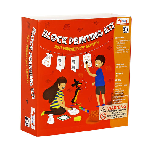 Buy CocoMoco Block Printing Activity Kit Game - GiftWaley.com