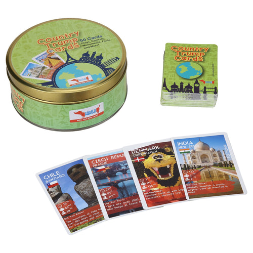 Buy CocoMoco Country Trump Card Game - GiftWaley.com