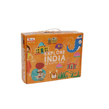 Load image into Gallery viewer, Buy CocoMoco Explore India Activity Kit Game - GiftWaley.com