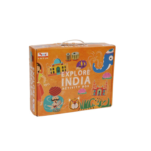 Buy CocoMoco Explore India Activity Kit Game - GiftWaley.com