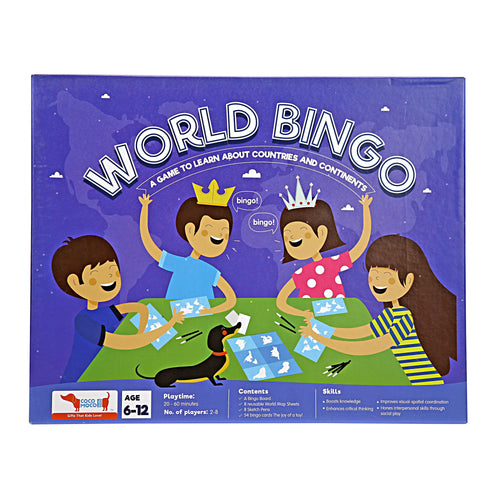 Buy CocoMoco Geography World Bingo Educational Game - GiftWaley.com