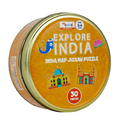 Buy CocoMoco India Map Jigsaw Puzzle Game - GiftWaley.com