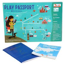 Load image into Gallery viewer, Buy CocoMoco Play Passport Sticker Activity Kit Educational Toy - GiftWaley.com