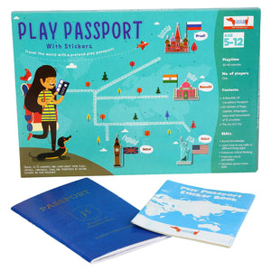 Buy CocoMoco Play Passport Sticker Activity Kit Educational Toy - GiftWaley.com