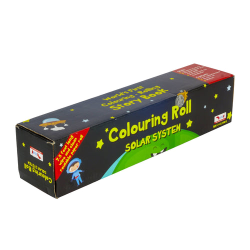 Buy CocoMoco Solar System Colouring Story Book With Crayons - GiftWaley.com