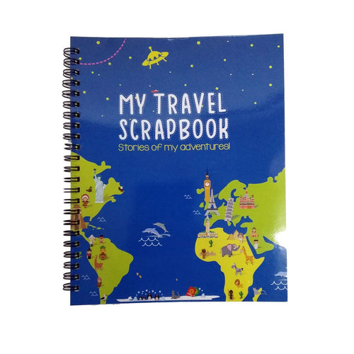 Buy CocoMoco Travel Scrapbook With Sticker - GiftWaley.com