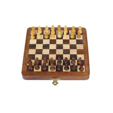 Load image into Gallery viewer, Buy Desi Toys Chumbak Satranj Magnetic Folding Chess Set 7 Board Game - GiftWaley.com