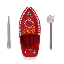 Load image into Gallery viewer, Buy Desi Toys Tin Toy Boat, Pop Pop Boat, Putt Putt Nav, Steam Boat Toy - GiftWaley.com